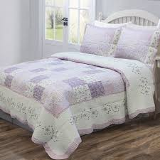 Lilac Bedding Sets Cozy Line Home Fashion Of Lilac Quilt Set Reviews Wayfair