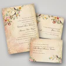 bird wedding invitations trending tuesday vintage wedding invitations personal chef