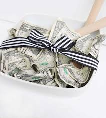 Wedding Gift Cash Green Salad U0027 Money Gift Idea Pretty Providence