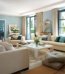 I Like This Color Scheme For The Living Room And Dining Room - Blue living room color schemes