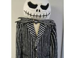 Jack Skeleton Costume Jack Skellington Etsy