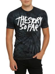 The Story So Far Tie Dye T Shirt Topic