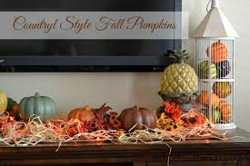 diy dollar tree country style fall pumpkins