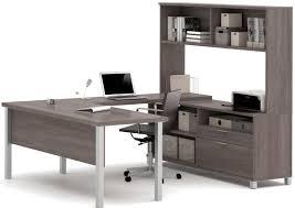 Cheap U Shaped Desk Mercury Row 4 U Shape Desk Office Suite Reviews