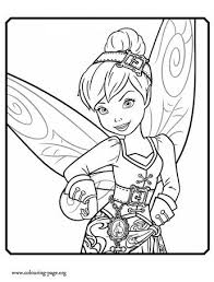 pirate fairy tinker bell water fairy coloring http