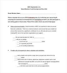 15 fundraising plan templates free sample example format