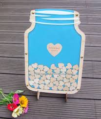 aliexpress com buy personalized customs mason jar wooden frame