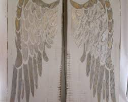 Angel Wing Wall Decor Etsy Your Place To Buy And Sell All Things Handmade