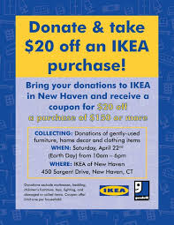 donate ikea furniture robbins list new haven events fundraisers deals donate to