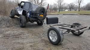 jeep frame overland trailer build overland bound community