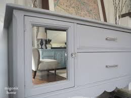 grey mirrored buffet guest post country chic paint