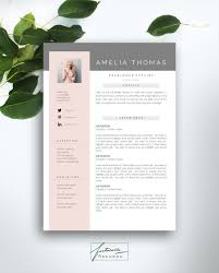 format of cv resume resume template 3 page cv template cover by fortunelleresumes