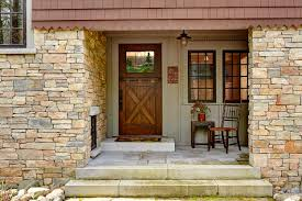 home front door tomahawk lake house david heide design studio