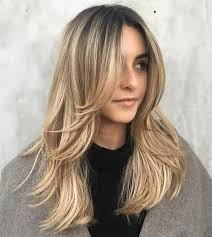 rounded layer haircuts 50 cute and effortless long layered haircuts with bangs long
