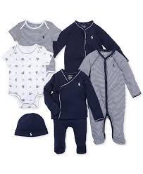 Trendy Infant Boy Clothes Ralph Lauren Baby Boys U0027 Nestled In Navy Gift Bundle Kids Baby
