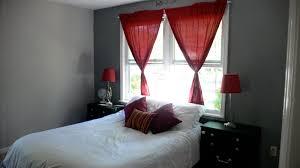 bedroom good looking decoration design using red sheet platform
