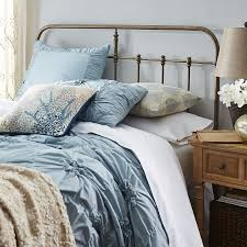 darcey cast iron metal headboard pier 1 imports