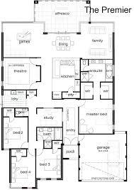 best single story floor plans single floor house plans case cu single story 4 bedroom house plans