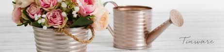 Galvanised Vases Tin Metal Display Vases Pots U0026 Baskets Koch U0026 Co