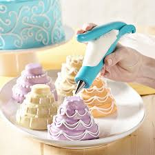Yakamoz Cake Decorating Pen Pastry Icing Piping Bag Nozzle Tips