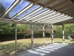 vitrage toiture veranda véranda deux pans coupés modèle emeraude bourg en bresse