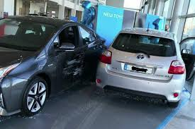 toyota car showroom toyota reveals freak incident led to damage of cars in dublin
