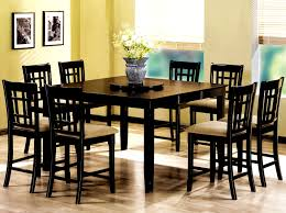 furniture splendid counter height table storage black dining