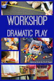 workshop dramatic play pre k pages