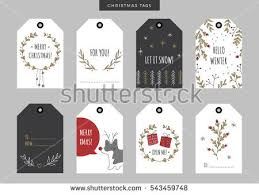 christmas plants background and label download free vector art