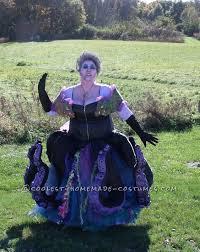 Ursula Costume Handmade Ursula The Sea Witch Costume Sea Witch Costume Sea