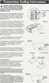 How Do I Program A Garage Door Opener by Garage Doors Clicker Universal Wireless Keyless Entry System