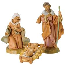 amazon com fontanini by roman classic holy family nativity set 3