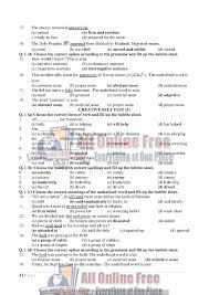 guess notes 9th class english objective paragraphs and questions
