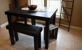 bench black kitchen table narrow dining room table bench table