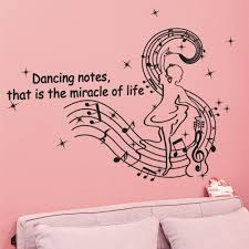 popular music note paper buy cheap music note paper lots from english letter dancing musical note wall decal home sticker paper removable art picture murals kids nursery