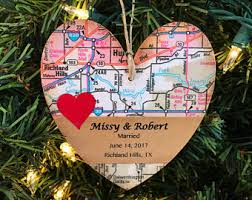personalized wedding ornament personalized engagement ornament newly engaged ornament