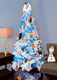 themed christmas tree we this frozen themed christmas tree and we just can t let it
