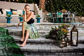 nicole richie u0027s laurel canyon home u0027s backyard is relaxed and