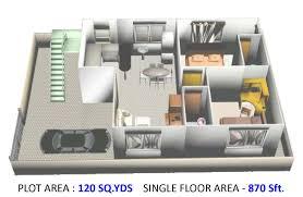 1250 sq ft 3 bhk 3t villa for sale in pride india the empire villa