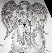 little angel praying tattoo design photo 2 2017 real photo