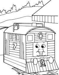 26 thomas train coloring images thomas train
