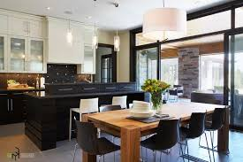 Black Kitchen Chandelier Kitchen 12 Awesome Black And White Kitchen Design Ideas Photos