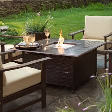 rectangle propane fire pit table proven red ember fire pit 45 in square propane table pits