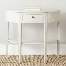 Accent Console Table Catchy Half Round Accent Table Best Ideas About Half Moon Console