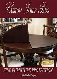 Custom Dining Room Table Pads Custom Table Pads For Dining Room Tables 59 Any Size Custom Dining