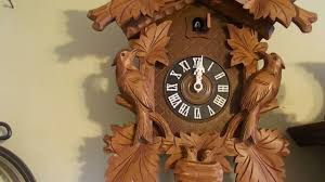 8 Day Cuckoo Clock Black Forest 8 Day Cuckoo Clock Youtube