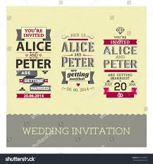 wedding invitations stamps set wedding stamps invitations stock vector 131300321 shutterstock