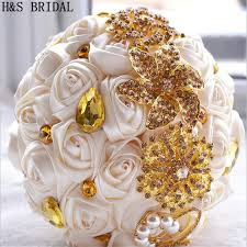 artificial wedding bouquets online shop gorgeous wedding flowers bridal bouquets gold ivory