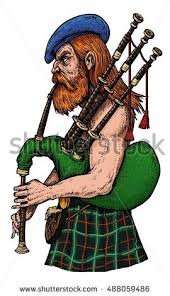 scottish bagpiper stock images royalty free images u0026 vectors