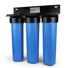 Kitchen Faucet Water Purifier by Ispring 3 Stage Whole House Water Filtration System W 20x4 5 In